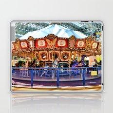Carousel inside the Mall Laptop & iPad Skin