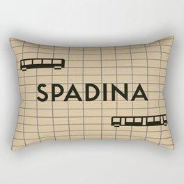 SPADINA | Subway Station Rectangular Pillow