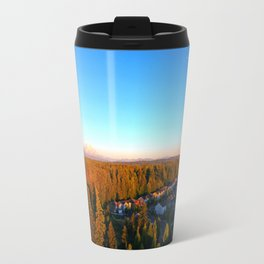 Mt. Rainier and the Moon Travel Mug