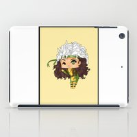 rogue iPad Cases featuring Chibi Rogue by artwaste