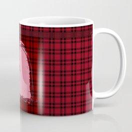 Heart on Flannel Coffee Mug