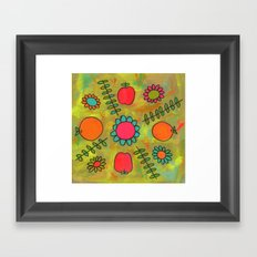 Kitchen Vibes Framed Art Print