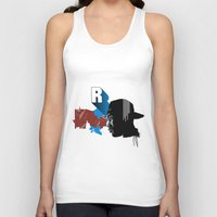 rap Tank Tops featuring Rap by David Navascues