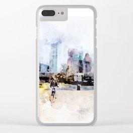 sketch the Hague 3 Clear iPhone Case