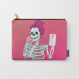 Selfie to the bones Carry-All Pouch