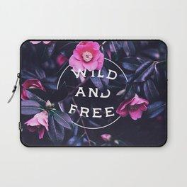 Wild and free (botanic) Laptop Sleeve