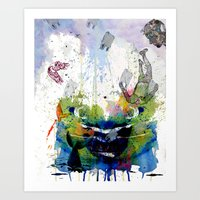 Plastic Showers & The Sinking World Art Print