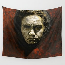 Ludwig van Beethoven (1770-1827) by Franz von Stuck (1863 - 1928)(1) Wall Tapestry