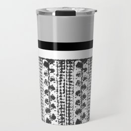 Colorblock Leaves Travel Mug
