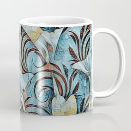 A Butterfly Abstract Coffee Mug