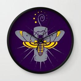 Death's-Head Wall Clock