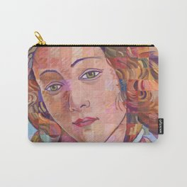 Variations On Botticelli's Venus – No. 1 Carry-All Pouch