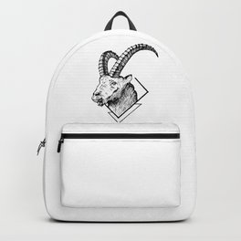 Mountain Goat - HandDrawing Backpack
