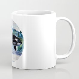 Whale of Freedom Coffee Mug