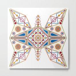 Chiva Butterfly Metal Print