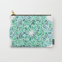 Mandala Southwest Succulent Carry-All Pouch