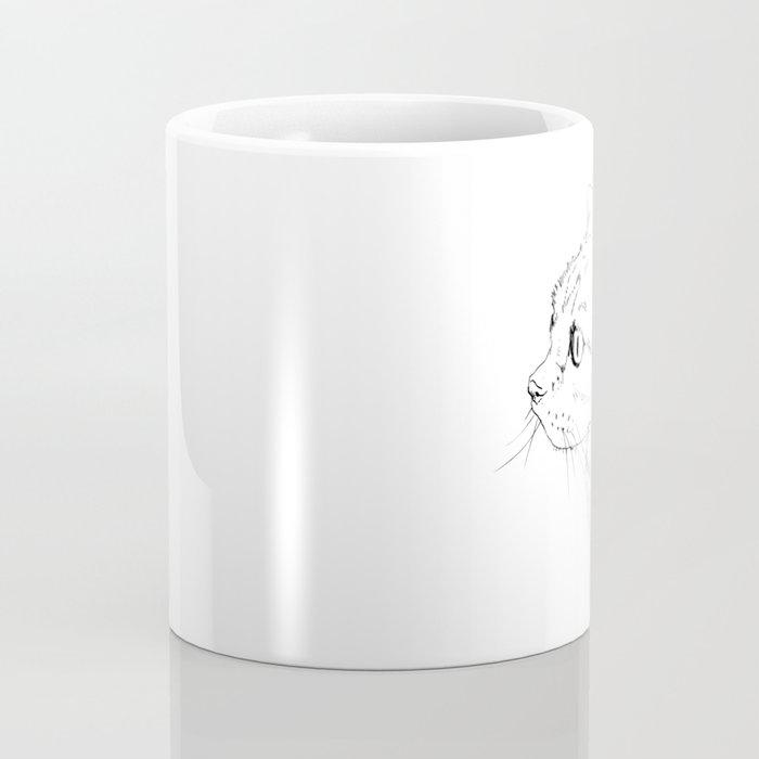 cat face Coffee Mug