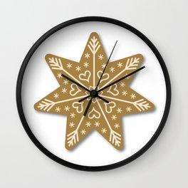 christmas gingerbread Wall Clock