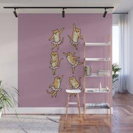 Ballet Cat Wall Mural