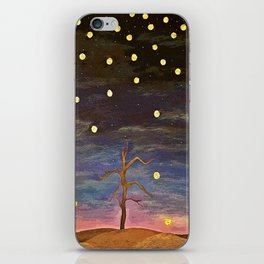 Partially Stars iPhone Skin