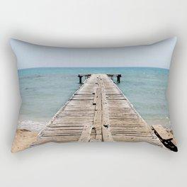 BEACH DAYS 44 - Bridge Rectangular Pillow