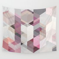 nordic Wall Tapestries featuring Nordic Combination 22 Y by Mareike Böhmer