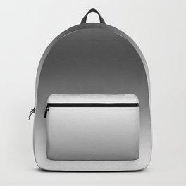 White to Black Horizontal Bilinear Gradient Backpack