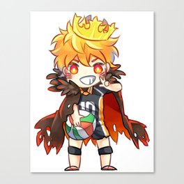 King Hinata Canvas Print