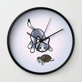 Best Friends: Stewie and Obi Wall Clock