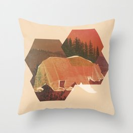 POLYBEAR Throw Pillow