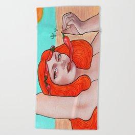 Hot Beach Towel