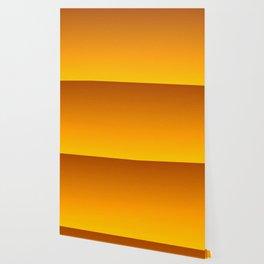 Honey Brown Orange Yellow Ombre Flames Wallpaper