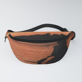 Sunset Canoe Fanny Pack