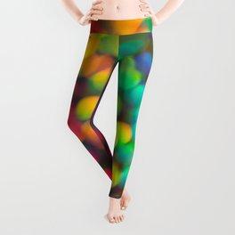 Rainbow Bokeh 1 Leggings