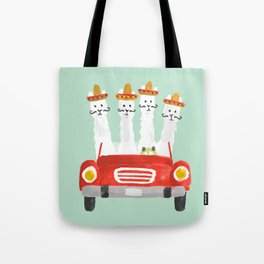 The four amigos Tote Bag