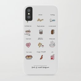 Foods of the Bluths iPhone Case
