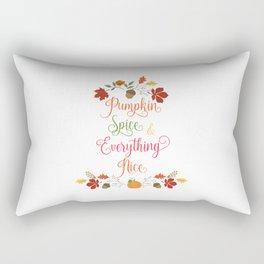 Pumpkin Spice Rectangular Pillow
