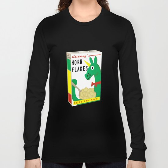 Horn Flakes Cereal Long Sleeve T-shirt