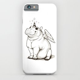 The Hippocorn iPhone Case
