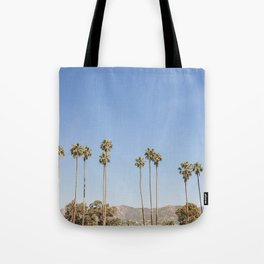 On California Time Tote Bag