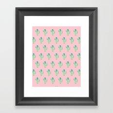 Summer in the Desert Framed Art Print