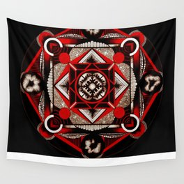 geo plant ovaries  Wall Tapestry