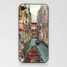 Autumn in Venice iPhone & iPod Skin