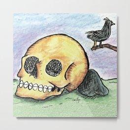 The Murder Metal Print