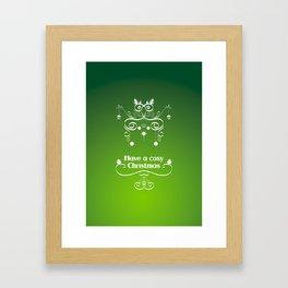 Christmas decorations 2 Framed Art Print