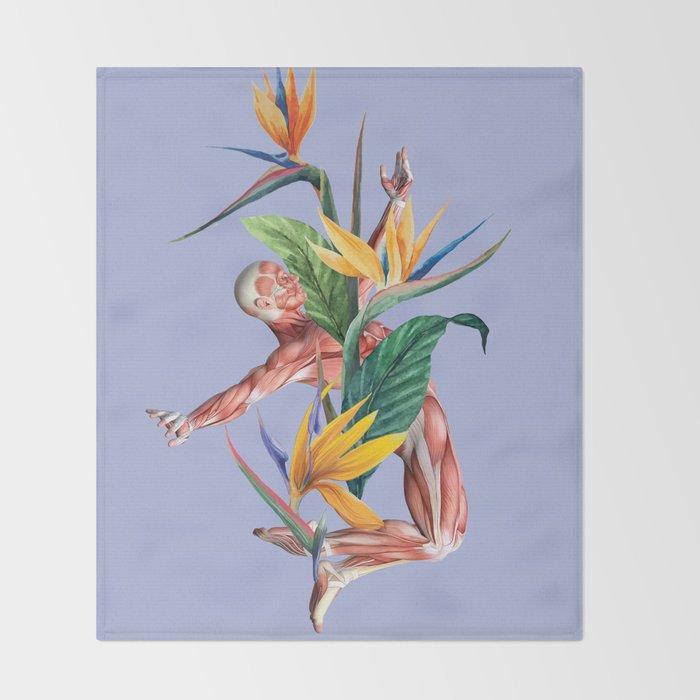 Voilent Summer Throw Blanket