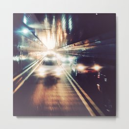 Tunnel Metal Print