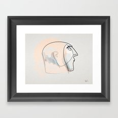 Linea della notte Framed Art Print