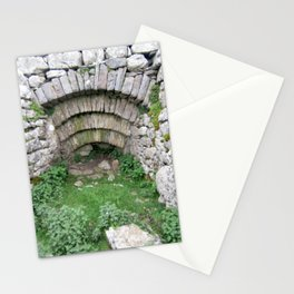 Old Stone Archway In Hillside at Pen y Ghent, Horton in Ribblesdale. Stationery Cards