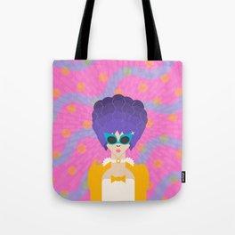 Modern Marie Antoinette Tote Bag